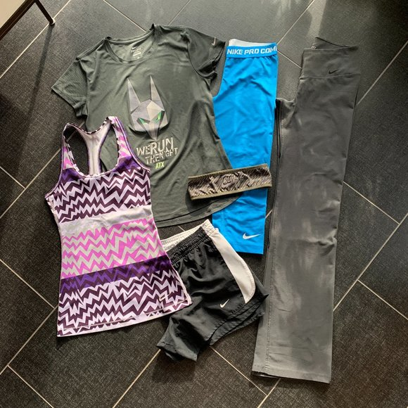 Nike Pants - Nike Athleisure 6 Piece Workout Bundle